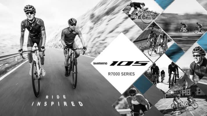 Shimano 105 R7000 rider inspired bij Rullens fietsen