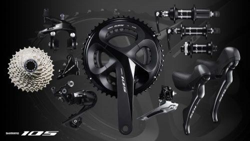 Shimano 105 R7000 disc groep te koop bij rullens fietsen