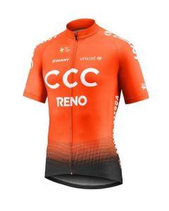 Giant CCC team replica jersey fietsshirt korte mouwen