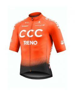 Exteondo CCC team jersey fietsshirt korte mouwen